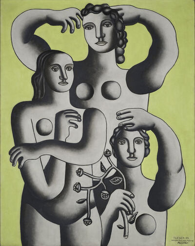 Fernand Léger, 'Composition with Three Figures— Fragment', 1932