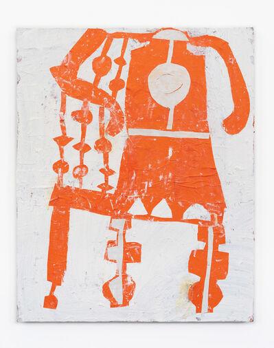 Florence Hutchings, 'Backgammon Chair (Orange) ', 2021