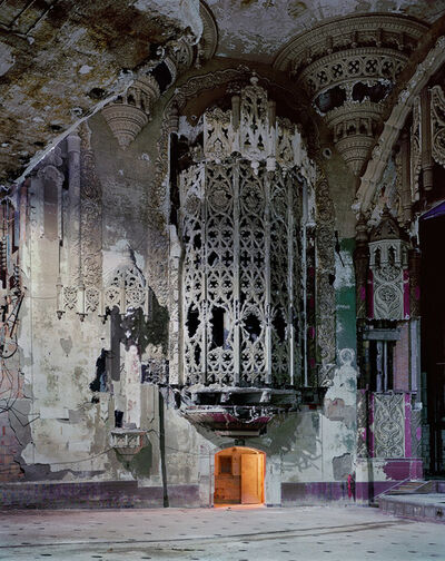 Andrew Moore, 'Organ Screen, United Artists Theater, Detroit', 2008