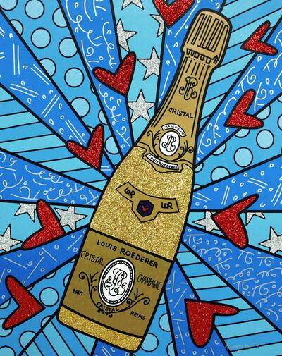Romero Britto, 'Champagne Wishes & Caviar Dreams', ca. 2019