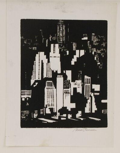 Mark Freeman, 'Spotlight on Manhattan', 1930