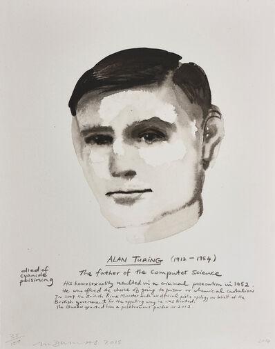 Marlene Dumas, 'Alan Turing', 2015