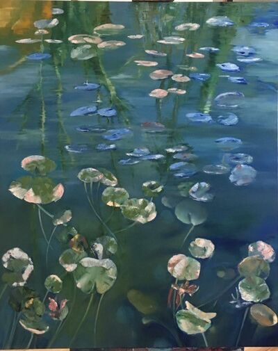Leith Ridley, 'The Waterlilies Center', 2018
