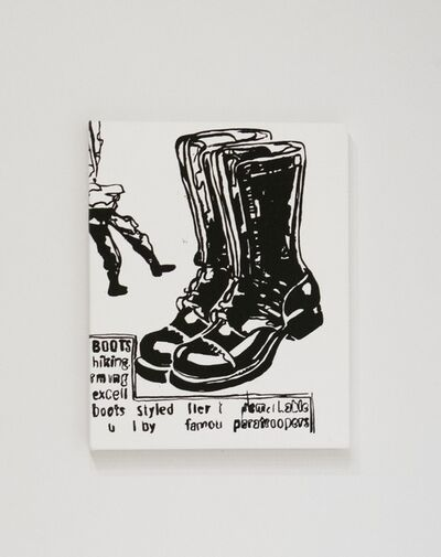 Andy Warhol, 'Paratrooper Boots', ca. 1985