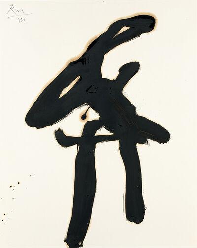Robert Motherwell, 'Drunk With Turpentine', 1983