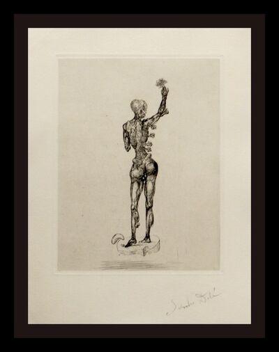 Salvador Dalí, 'Les Chants de Maldoror (Figure)', 1934