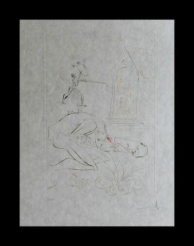 Salvador Dalí, 'La Quete du Graal Fight Before la Dame de Malehout', 1975