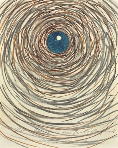 James Rosenquist, 'Moon + Stars Seen at Noon from the Bottom of a Well'