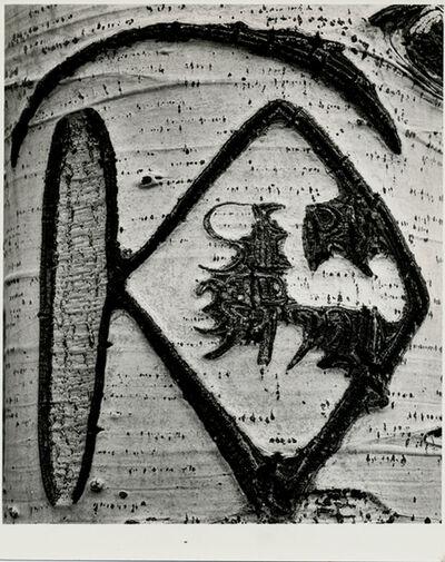 """Brett Weston, '""""Top/ abstraction"""", 1967 & """"Aspen Tree"""", 1972'"""