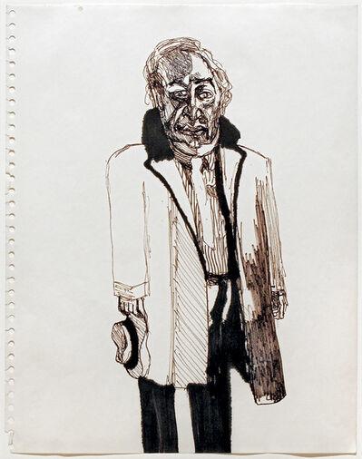 Alice Neel, 'Walter Gutman', 1965