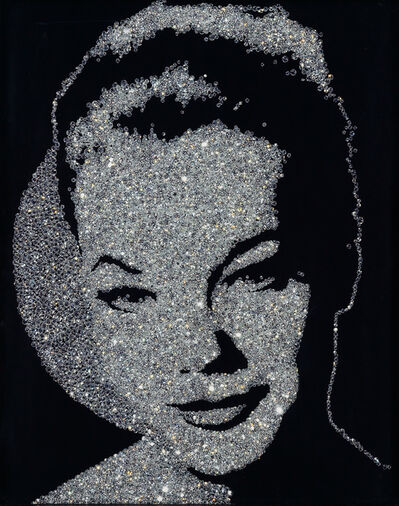 Vik Muniz, 'Romy Schneider (from the Diamond Series)', 2004