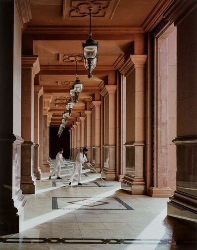 Andrew Moore, 'Sweepers, Emirates Palace, Abu Dhabi', 2013