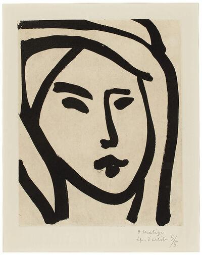 Henri Matisse, 'Bédouine - souvenir de manon', 1947