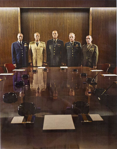 Evelyn Hofer, 'The Joint Chiefs- Washington DC', 1965