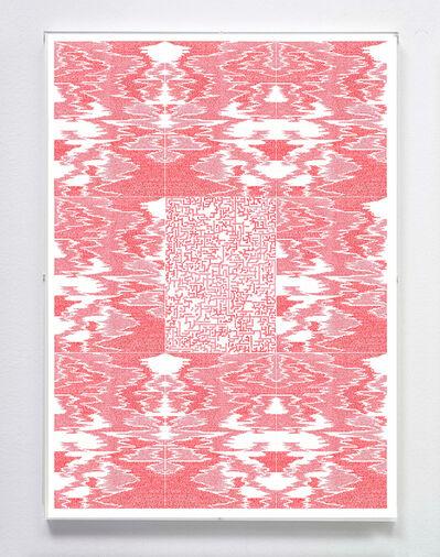 "Jose Vera Matos, 'Handwritten transcription of the book ""Poetics of relation"" by Edouard Glissant', 2020"
