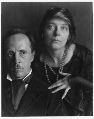 Imogen Cunningham, 'Edward Weston and Margrethe Mather, 1923', 1923 printed later