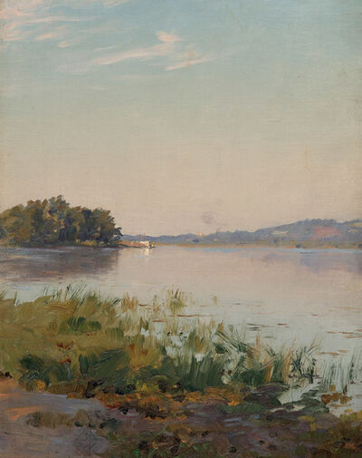 Walter Launt Palmer, 'Summer on the Hudson'