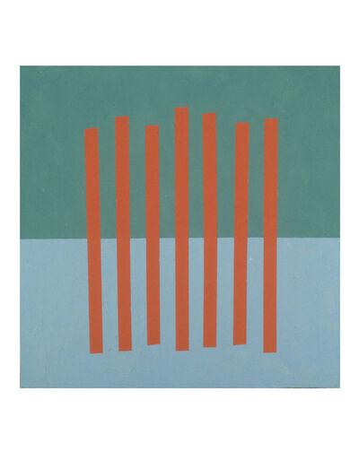 Donald Alberti, 'Visual Logic (red, blue, grey)', 2000