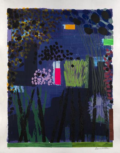 Bruce McLean, 'Garden Blue 3', 2012