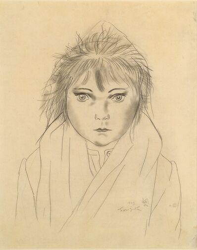 Léonard Tsugouharu Foujita 藤田 嗣治, 'Filette au capuchon', 1929