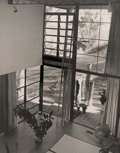 Julius Shulman, 'House Interior from Above', 1950s