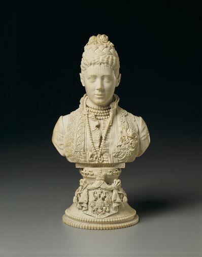 Iakov Panfilovich Seriakov, 'Bust of Maria Fedorovna', 1882