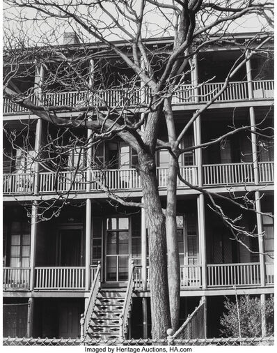 Anton Bruehl, 'Untitled (Tree in front of house)'