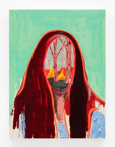 Kim Dorland, 'Her Brain Is On Fire', 2020