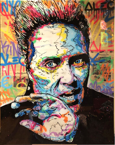 Alec Monopoly, 'Christopher Walken Icon', 2019