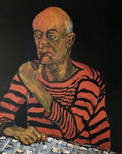 Alice Neel, 'Man with Pipe (John Rothschild)', 1979