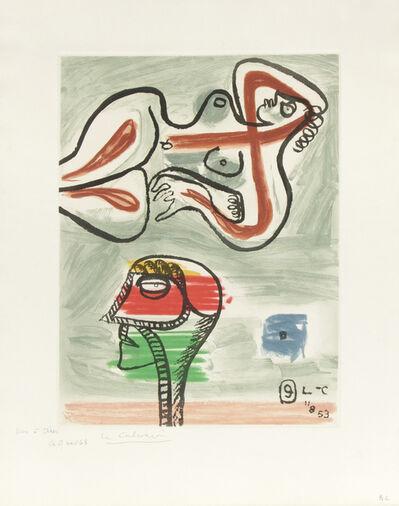 Le Corbusier, 'Unité, Planche 9', 1963