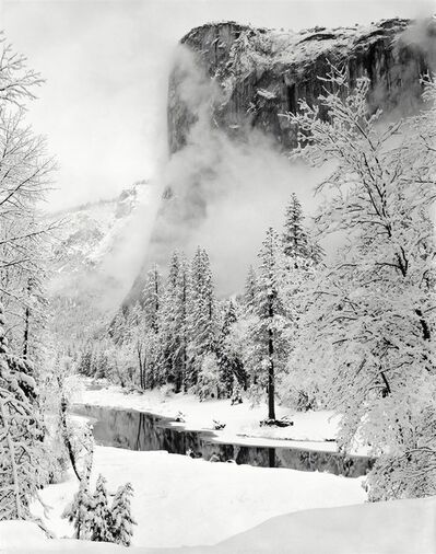 Ansel Adams, 'El Capitan, Winter', 1950