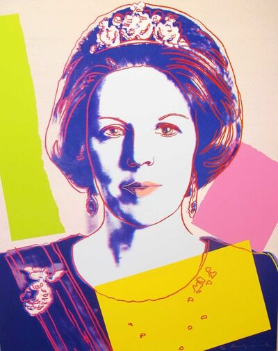 Andy Warhol, 'Reigning Queens: Queen Beatrix of the Netherlands, II.340', 1985