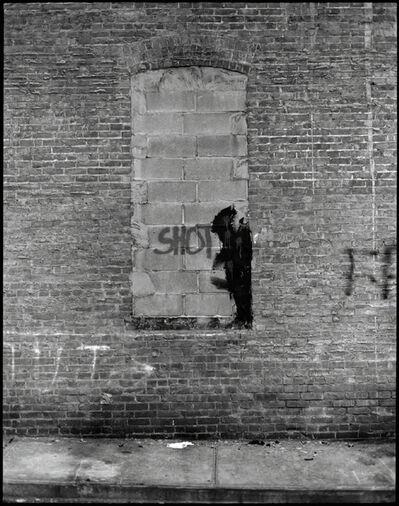 Hank O'Neal, 'Richard Hambleton Shadowman- Shot', 2009