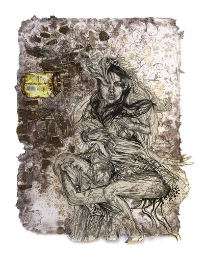 Swoon, 'Monica', 2017