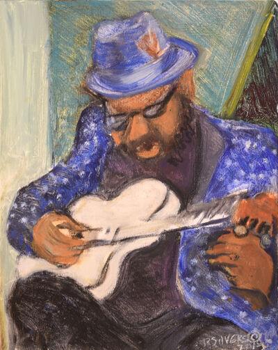 Regina Silvers, 'Charles Plays Solo Guitar', 2018
