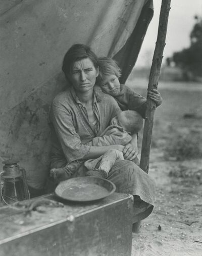 Dorothea Lange, 'Migrant Mother, Nipomo, California (and three variants)', 1936