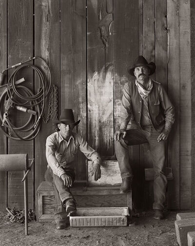 Jay Dusard, 'Buster Scarbrough and Bob Pulley, A Bar V Ranch, Arizona', 1981