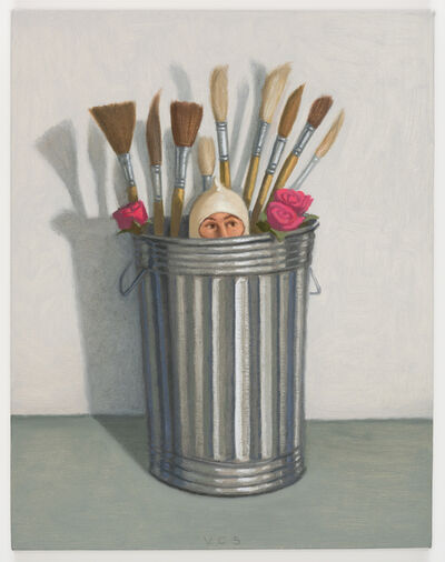 Vonn Cummings Sumner, 'Sock Hat Trash Can III', 2016