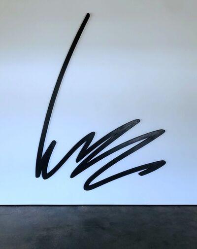 Bernar Venet, 'Position of an Undetermined Line', 1981