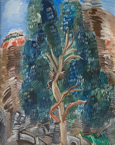 Raoul Dufy, 'Paysage du Midi à L'Eucalyptus', 1927