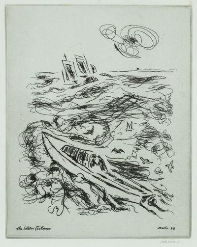 John Marin, 'The Lobster Fisherman', 1948