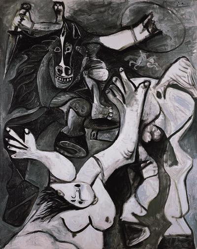 Pablo Picasso, 'L'enlèvement des Sabines (The Rape of the Sabines)', 1962