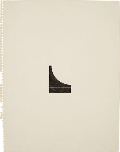 "Richard Tuttle, 'No. 127, 60"" center works (4)', 1975"