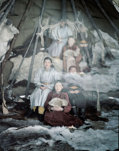 Jimmy Nelson, 'XX 199 Suvdaa, Sumija & Sumuija Renchinkhumbe, Khovsgol Mongolia - Tsaatan, Mongolia', 2011