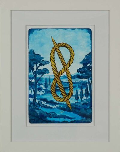 Anne Faith Nicholls, 'Knot Over Blue Utopia (Right)', 2014