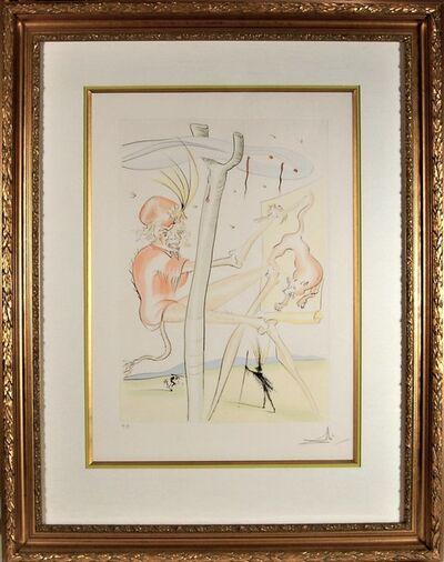 Salvador Dalí, 'Le Singe et le Leopard', 1976