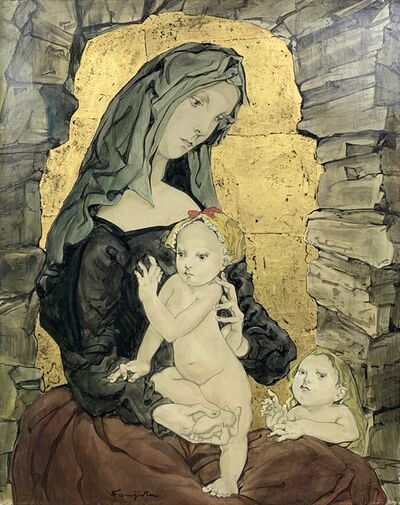 Léonard Tsugouharu Foujita, 'Maternité', ca. 1953