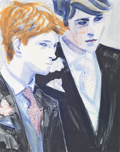 Elizabeth Peyton, 'William and Harry', 2000