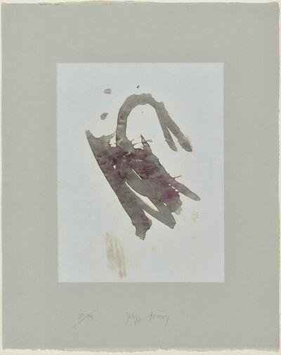 Joseph Beuys, 'Schwan (from the Suite Schwurhand)', 1980